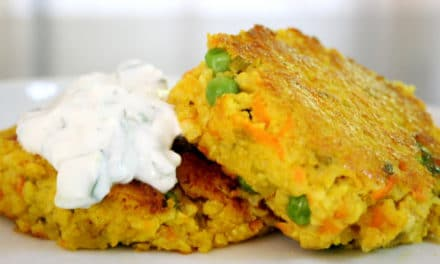 Curried Millet Patties