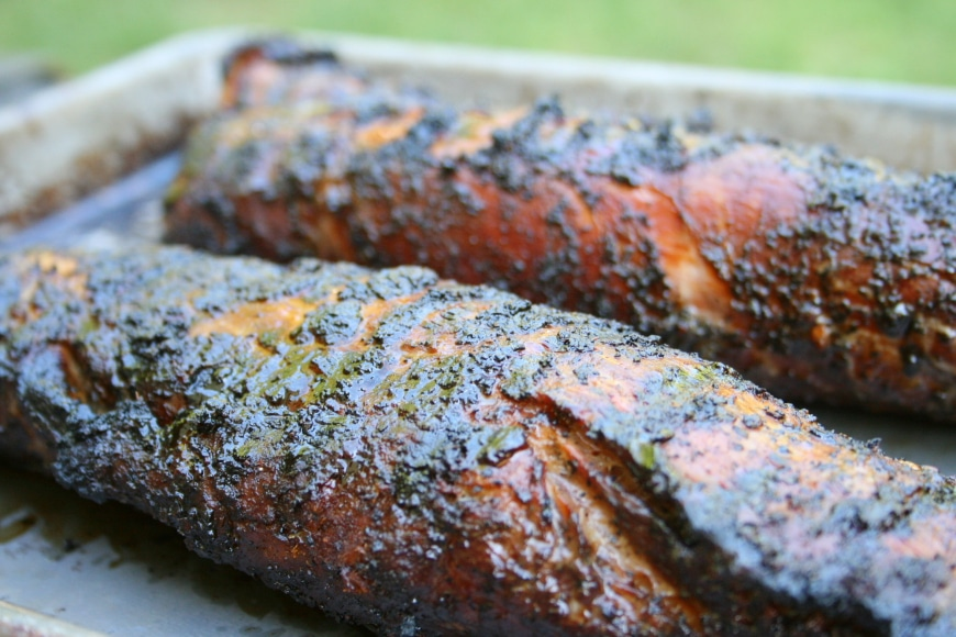 Coffee Marinated Pork Tenderloin