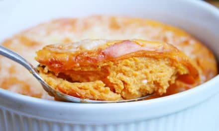 "Easy Sweet Potato ""Soufflé"" Bake"