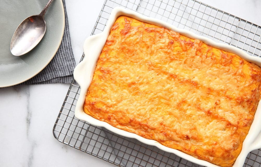 Sweet Potato Souffle Casserole