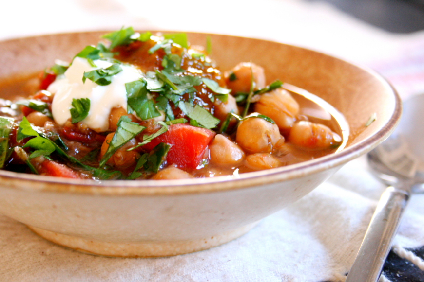 Indian Spiced Chickpea Stew