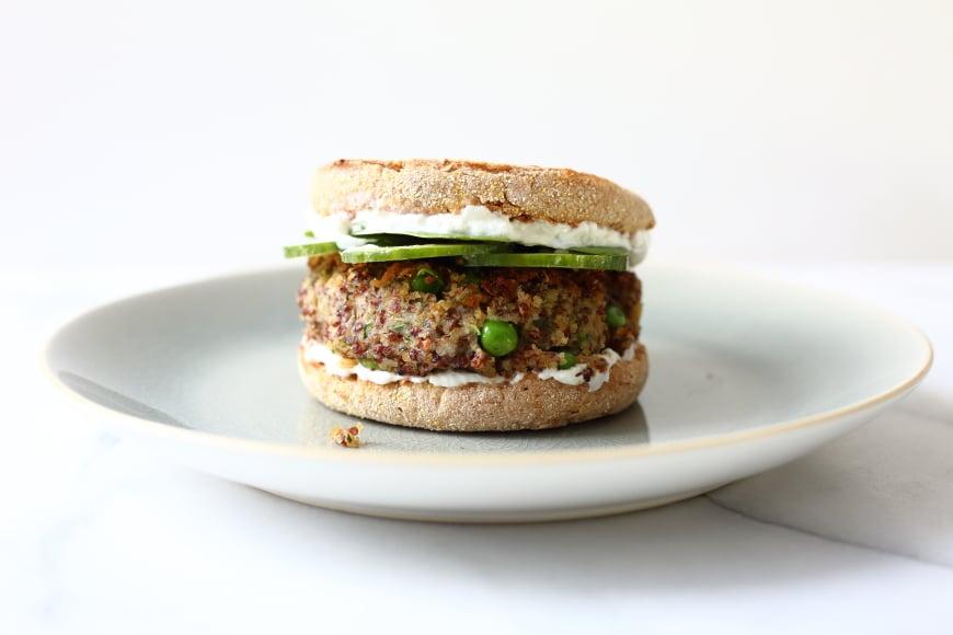 Quinoa & White Bean Burgers (Gluten-Free, Vegan)