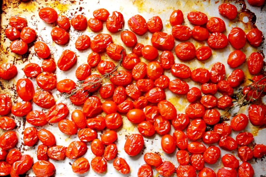 Roasted Grape Tomatoes