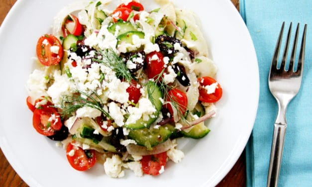 Greek Goodness Salad
