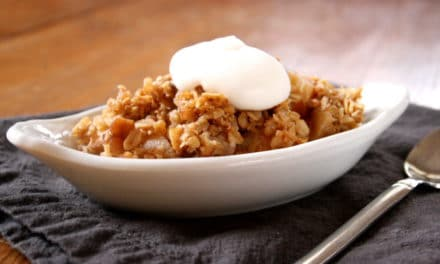 Apple Pecan Crisp (and some Thanksgiving inspiration)