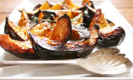 Maple Roasted Acorn Squash Wedges