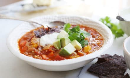 Vegetable & Quinoa Chili