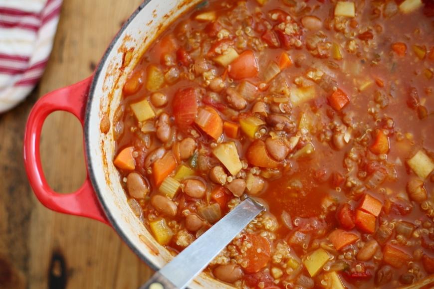 Vegetable & Quinoa Chili
