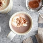 Healthy Hot Chocolate with Cacao Powder