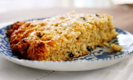 Orange Currant Quinoa Scones