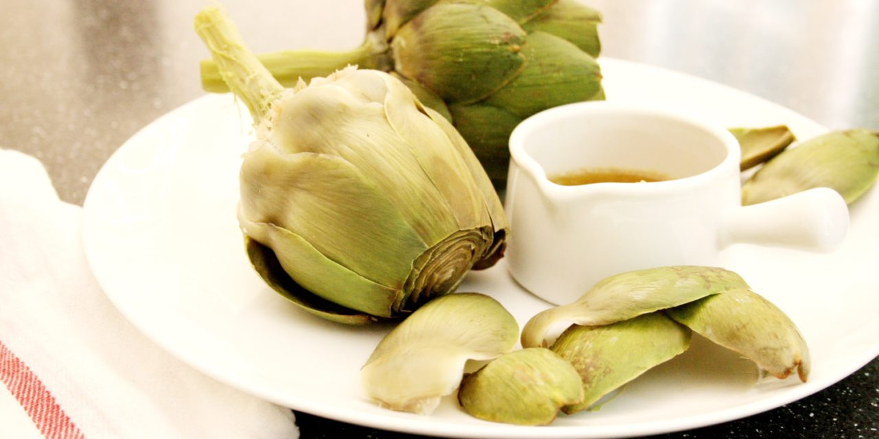 Artichokes with Bagna Cauda - From Scratch Fast - Recipes & meals ...