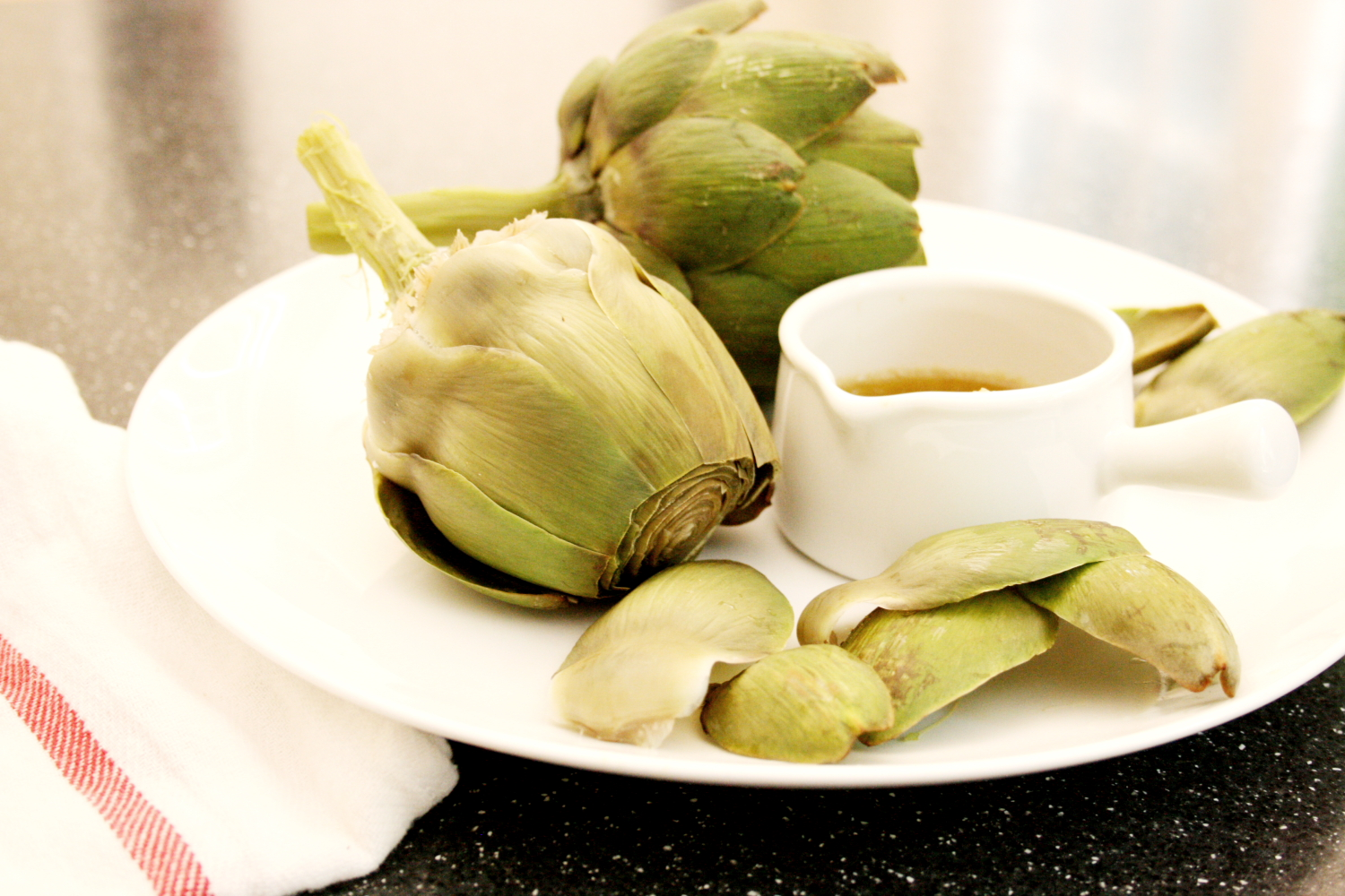 Artichokes with bagna cauda from scratch fast recipes meals