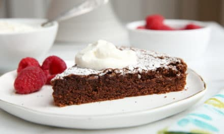 The Easiest Gluten-Free Chocolate Cake!