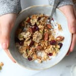 My Favorite Gluten Free Granola Recipe