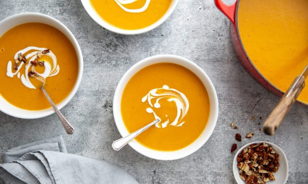 Healthy Sweet Potato Soup
