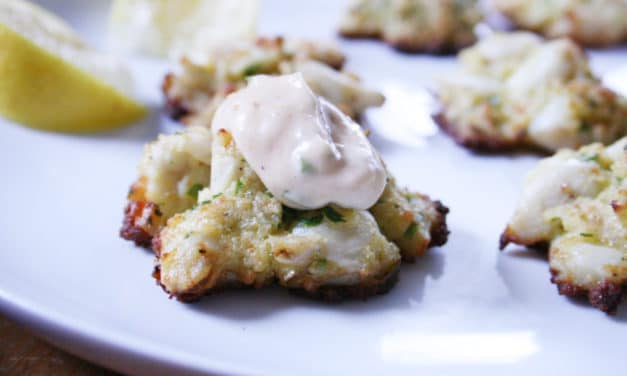 Jeff's Crab Cakes with Sriracha Remoulade