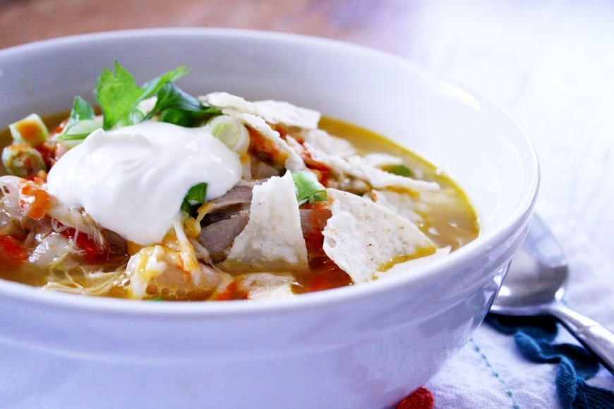 White Bean & Chicken Chili