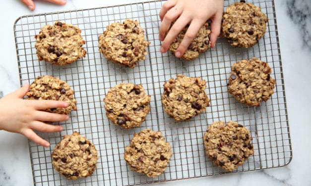 Easy Banana Breakfast Cookies (a.k.a Banana Oatcakes) GF, Vegan