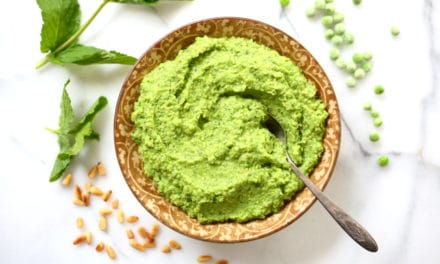 Sweet Pea & Mint Pesto (Vegan)