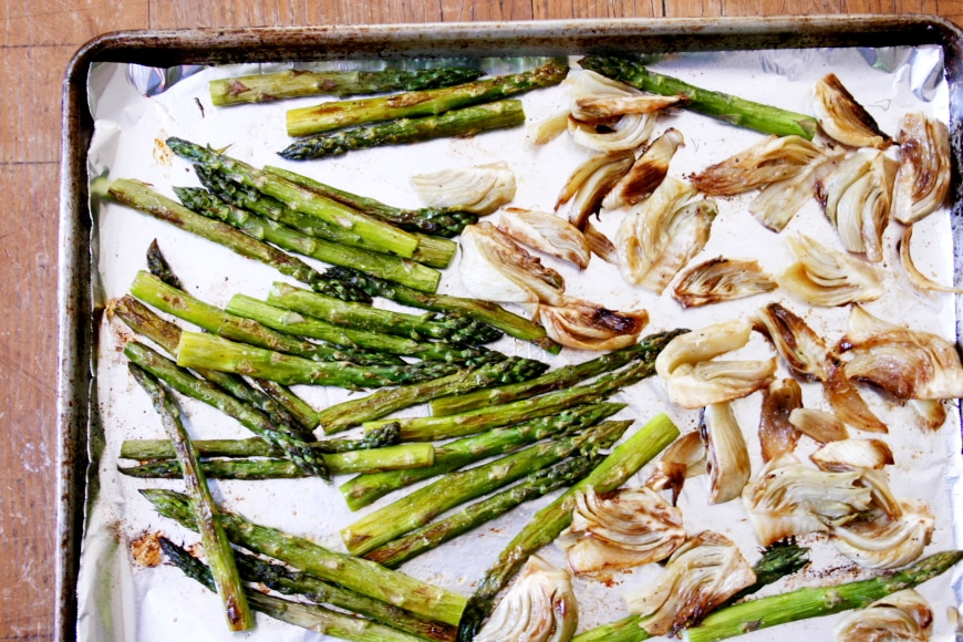 Roasted Fennel & Asparagus