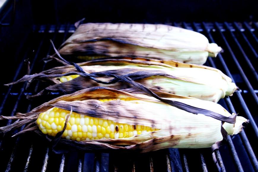 Grilled Corn | Corn Salad