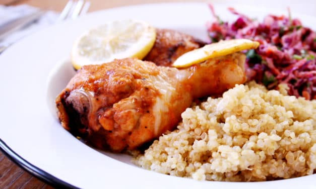 From Scratch Fast Families: Lemon Ginger Chicken