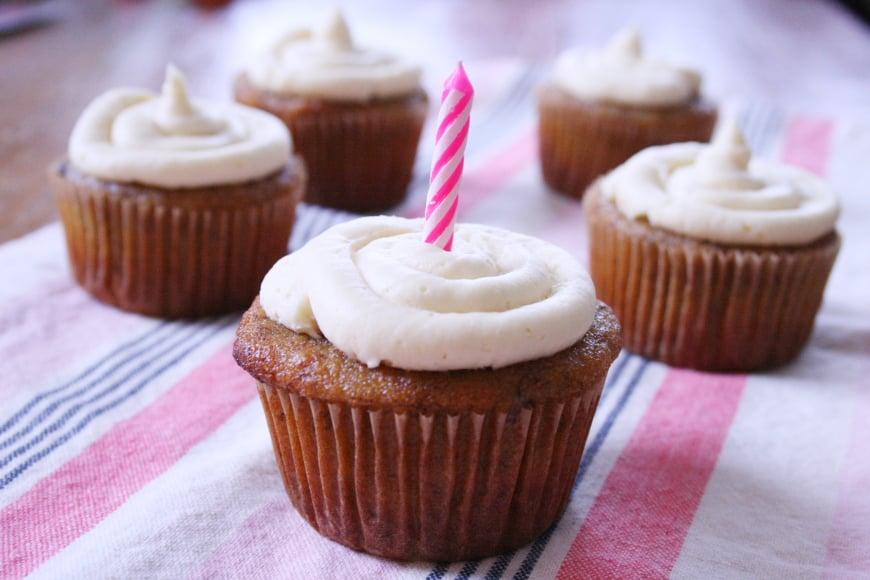 Gluten Free Banana Muffins / Cupcakes