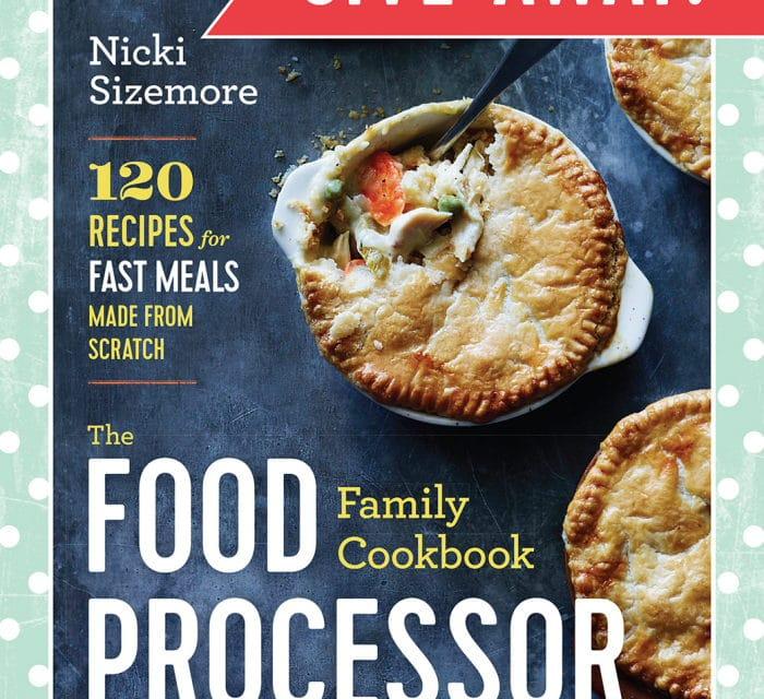 Cookbook and Food Processor Giveaway!