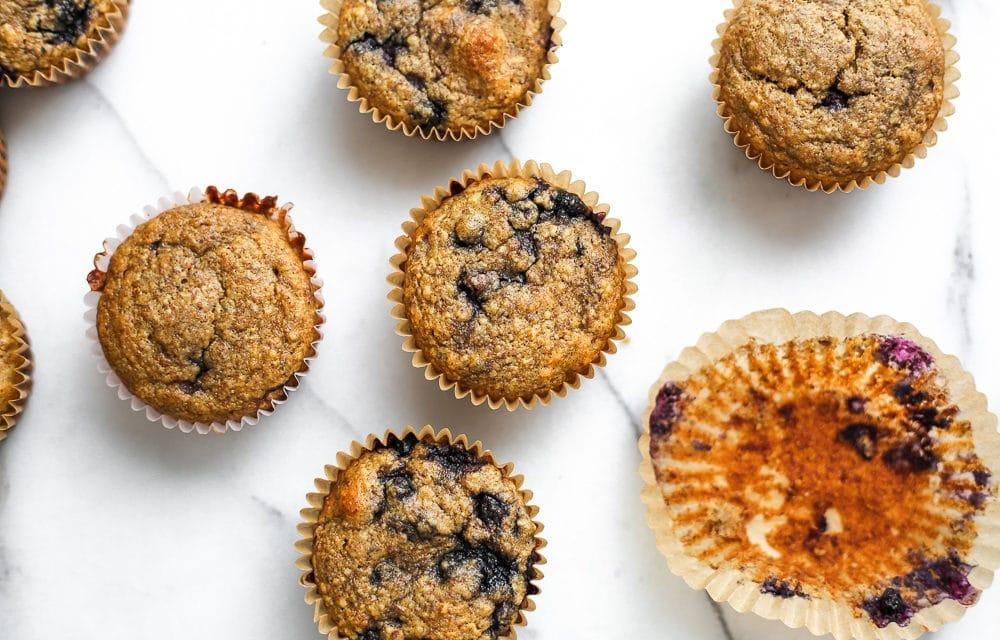 Blueberry Blender Muffins (Gluten-Free)
