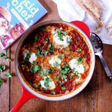 Tomato Egg Bake (Shakshuka)