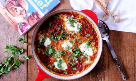 Shakshuka (Tomato Egg Bake) plus GIVEAWAY!
