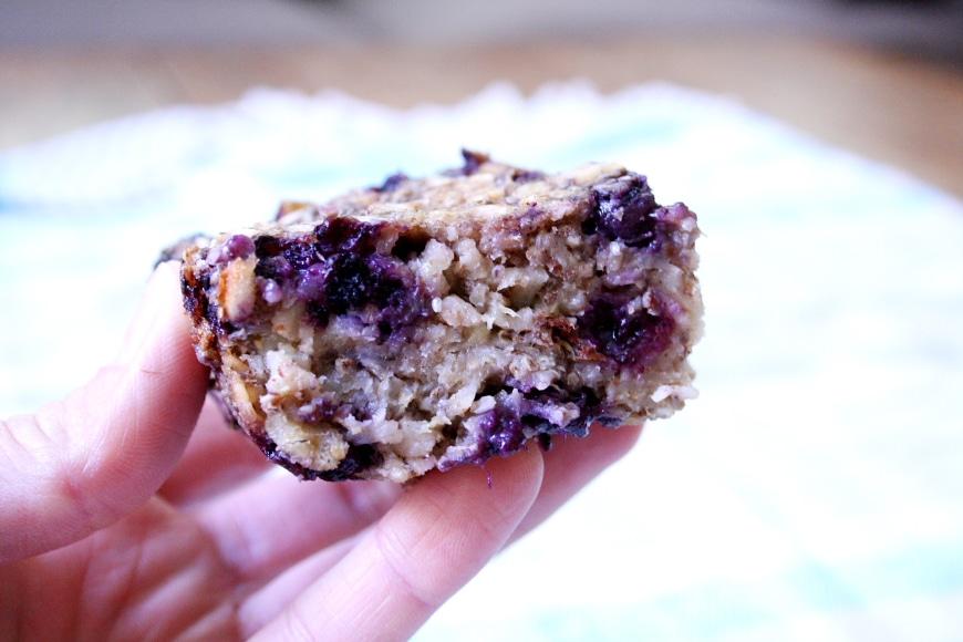 Baked Oatmeal Bars | Vegan & Gluten Free