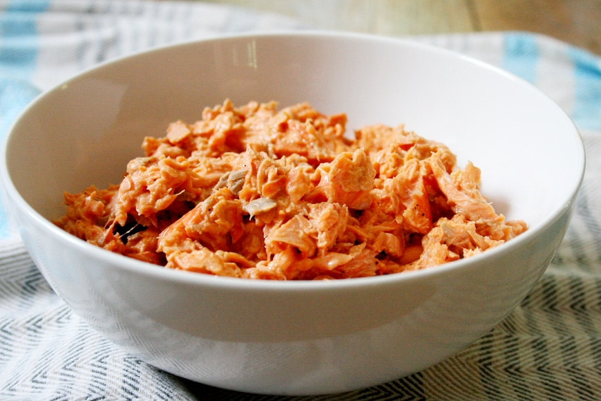 Spicy Salmon Salad | Gluten-Free