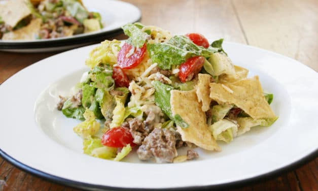 Taco Salad (All Grown Up)