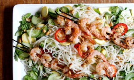 Rice Noodle Salad (Thai Style)