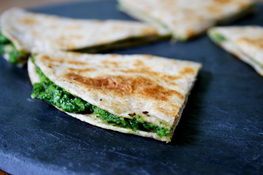 Kale Quesadillas