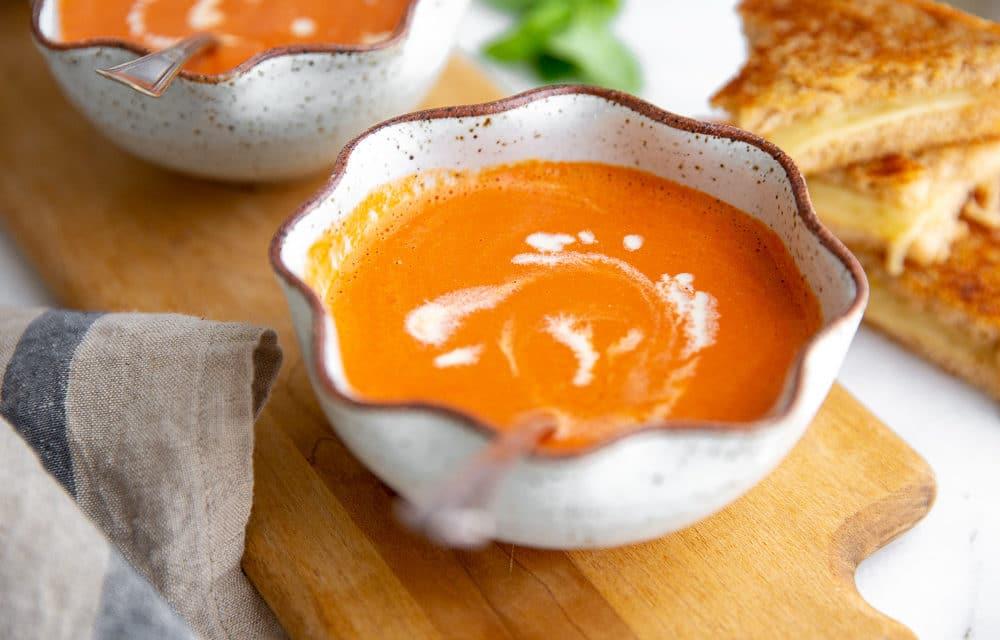 Vitamix Tomato Soup