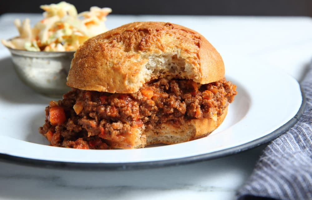 Healthy Sloppy Joes: even better than you remember!