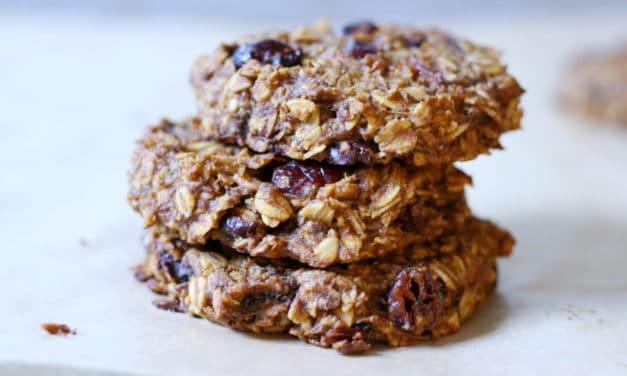 Pumpkin Spice Breakfast Cookies (Gluten-Free & Vegan)