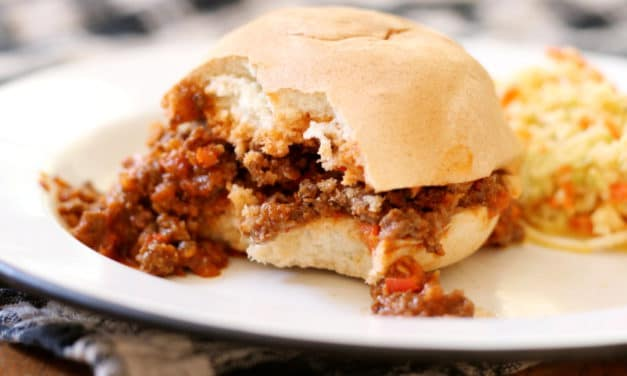 Sloppy Joes: better (and healthier!) that you remember