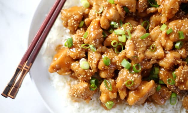 Sesame Chicken from Scratch (Gluten-Free)
