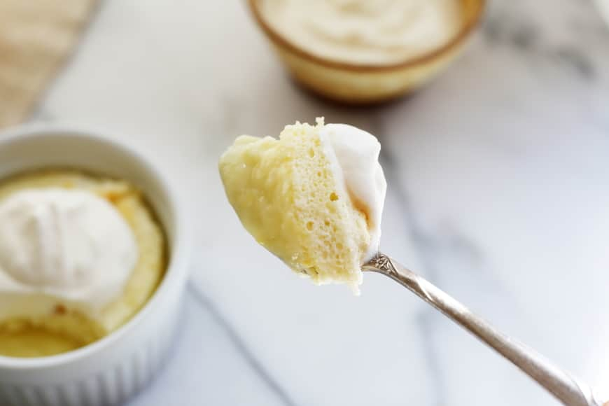 Gluten Free Lemon Pudding Cake