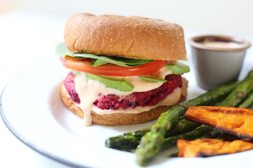 These gluten free veggie burgers are packed with vegetables and protein but taste downright indulgent. And they couldn't be easier to make!