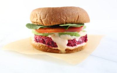 Gluten Free Veggie Burgers with Sriracha Mayo (Quick & Easy!)