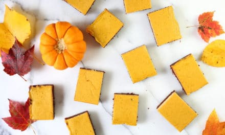 Pumpkin Cheesecake Brownies (Gluten Free)