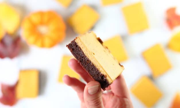 Gluten Free Pumpkin Cheesecake Brownies