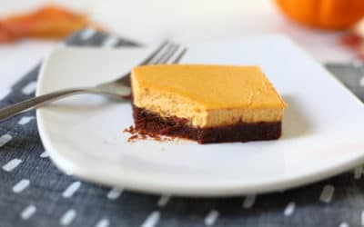 Pumpkin Cheesecake Brownies (Gluten Free)