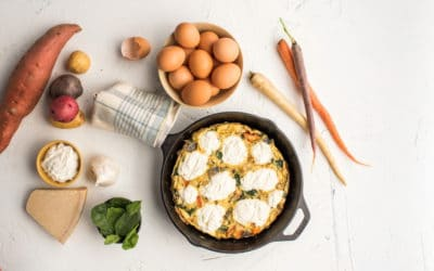 DIY Vegetable Frittata & NEW Craftsy Class!