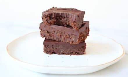 Super Fudgy Black Bean Brownies with 2-Minute Cacao Frosting (GF, Naturally Sweetened)