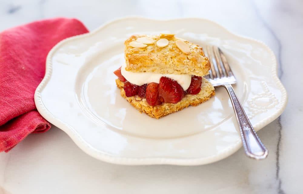 Easy Almond Shortcake Recipe (Gluten-free option)